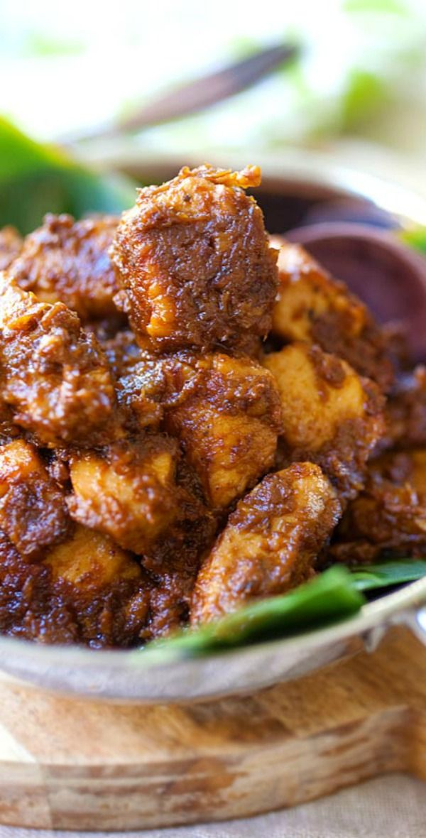 Chicken Rendang Amazing Malaysian Indonesian Chicken Stew With