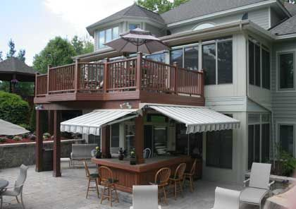 I Would Love This At The New House Outdoor Kitchen Design Patio Under Decks Deck With Pergola