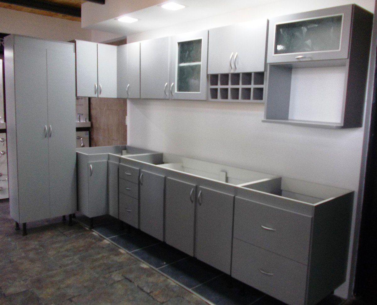 Juego muebles cocina melamina buscar con google for Modelos de muebles para cocina en melamina