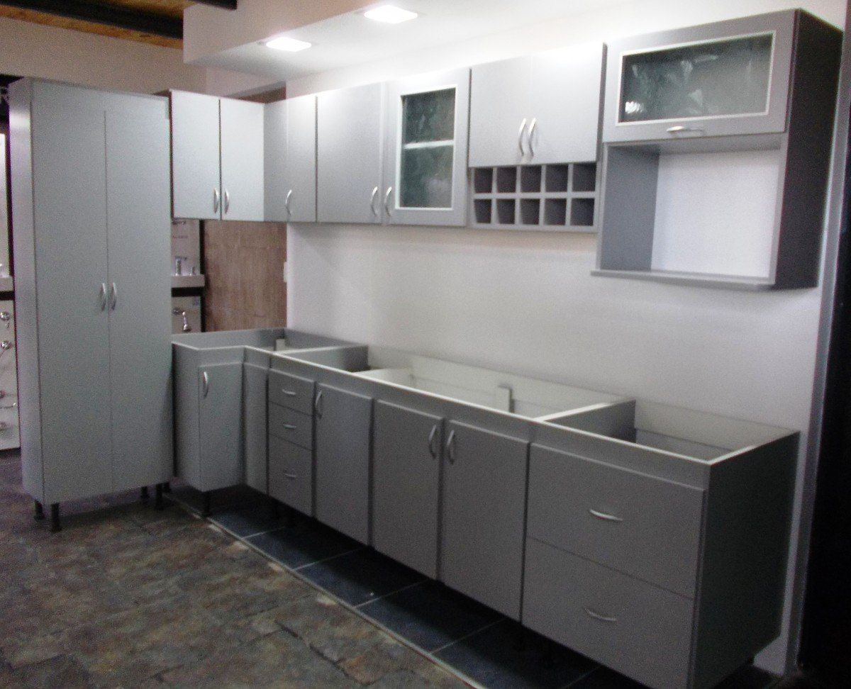 Juego muebles cocina melamina buscar con google cocinas for Separacion de muebles cocina comedor
