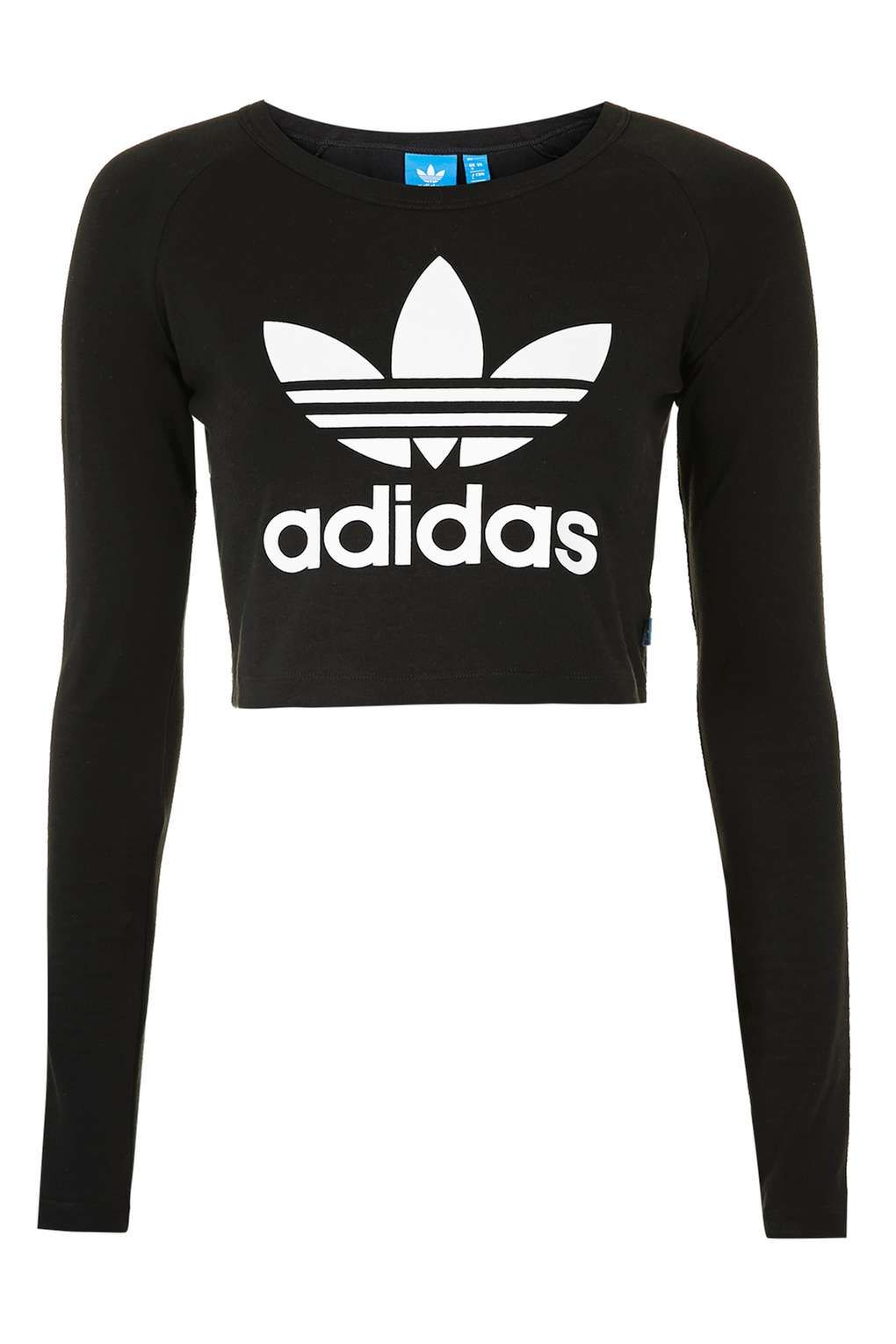Adidas crop t shirt cheap >off63% più grande catalogo sconti