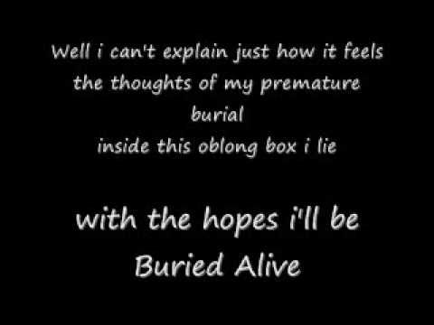 Buried Alive Lyrics By Creature Feature Creature Feature Lyrics