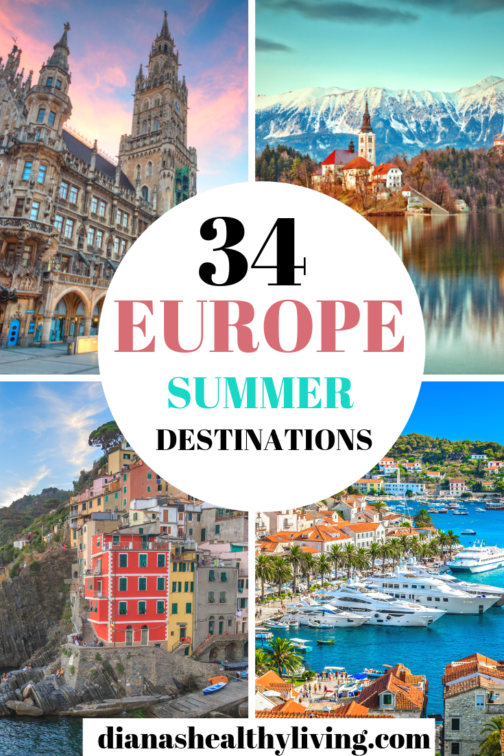 34 Top Places To Visit In Europe In Summer Summer Travel Destinations Summer Travel Europe Travel Destinations