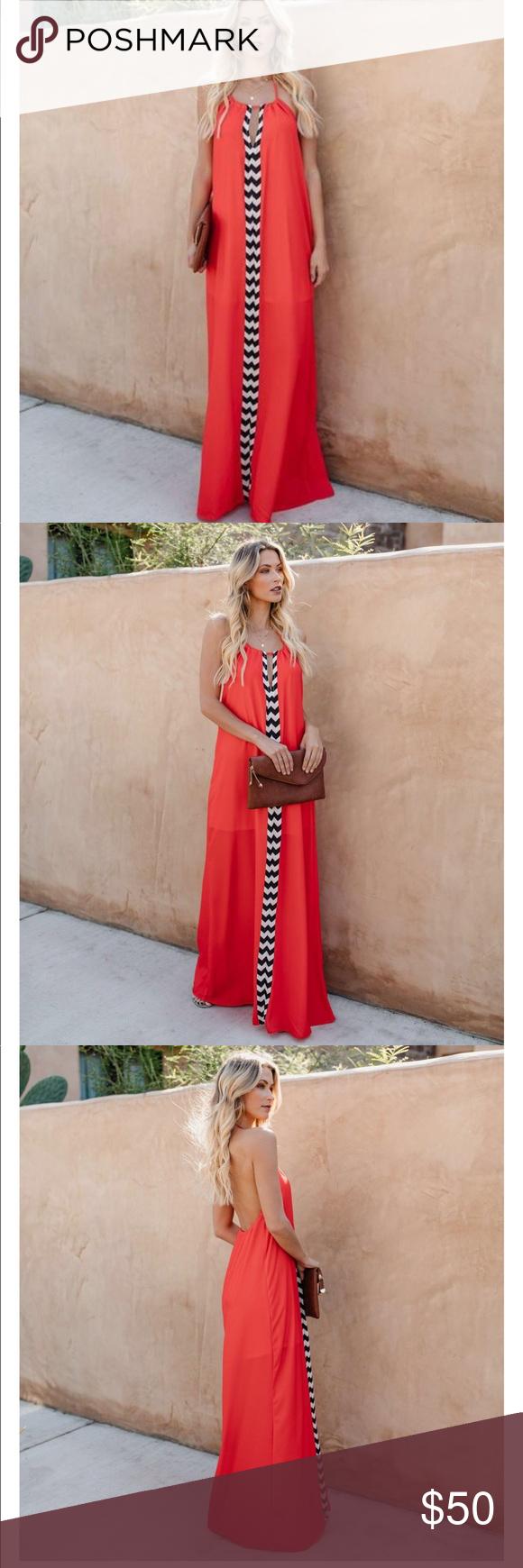 Vici Red Halter Maxi Dress Nwot Halter Maxi Dresses Maxi Dress Dresses [ 1740 x 580 Pixel ]