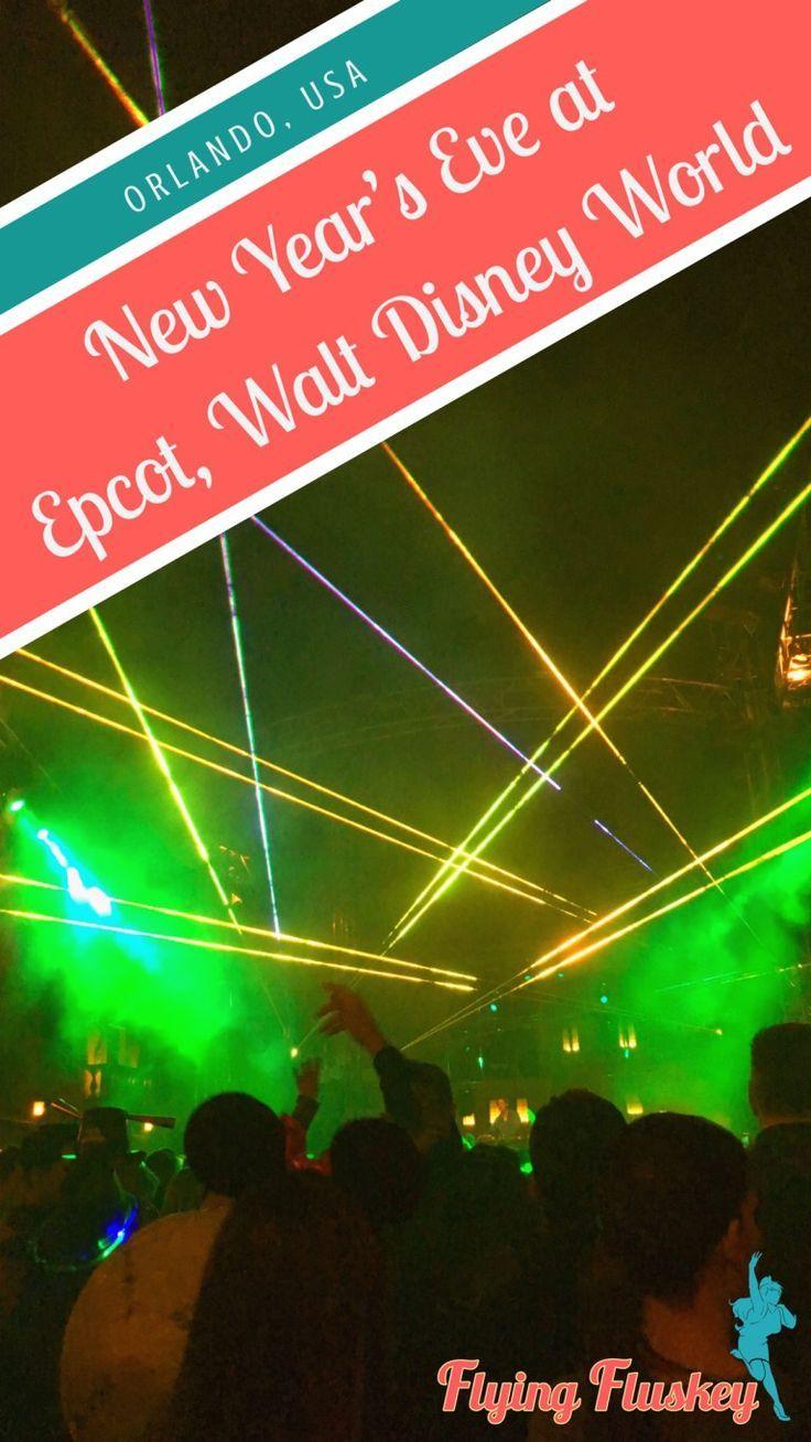 New Year's Eve at Epcot Walt Disney World Resort
