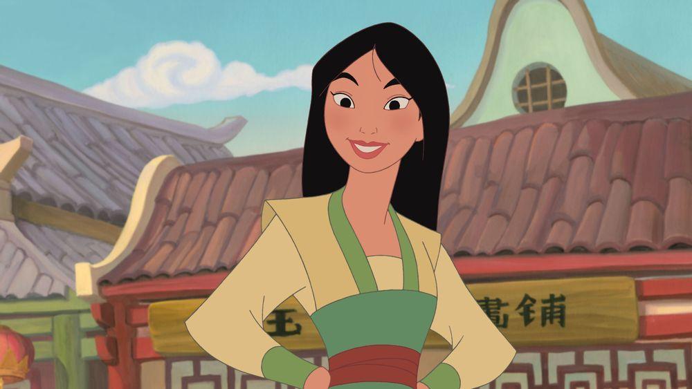 I Know Exactly Who To Bring Princesas Disney Mulan Películas De Animación