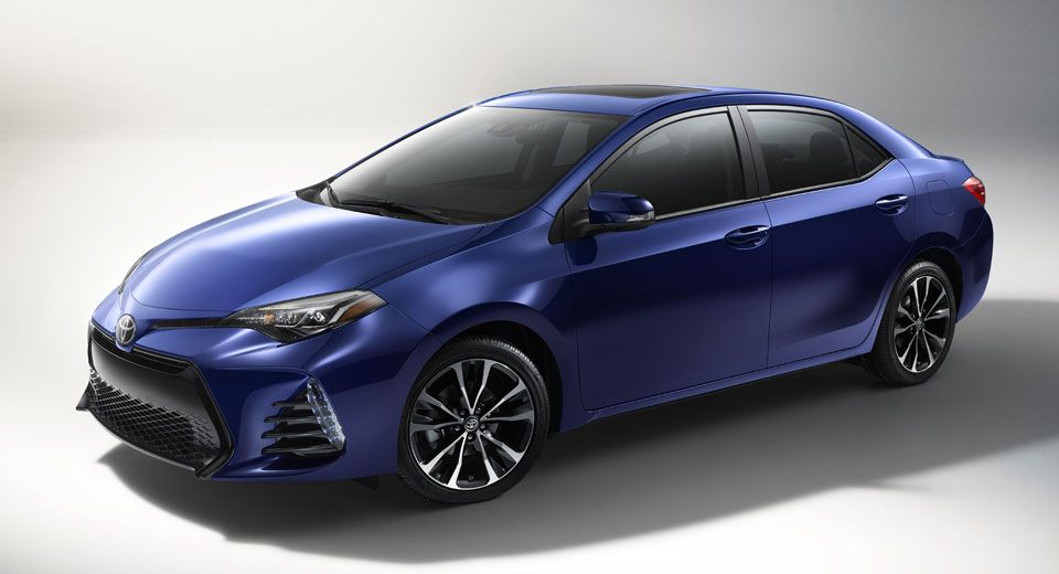 2017 Toyota Corolla Gets Updated Styling Equipment Carscoops Toyota Corolla 2017 Toyota Camry Toyota Camry