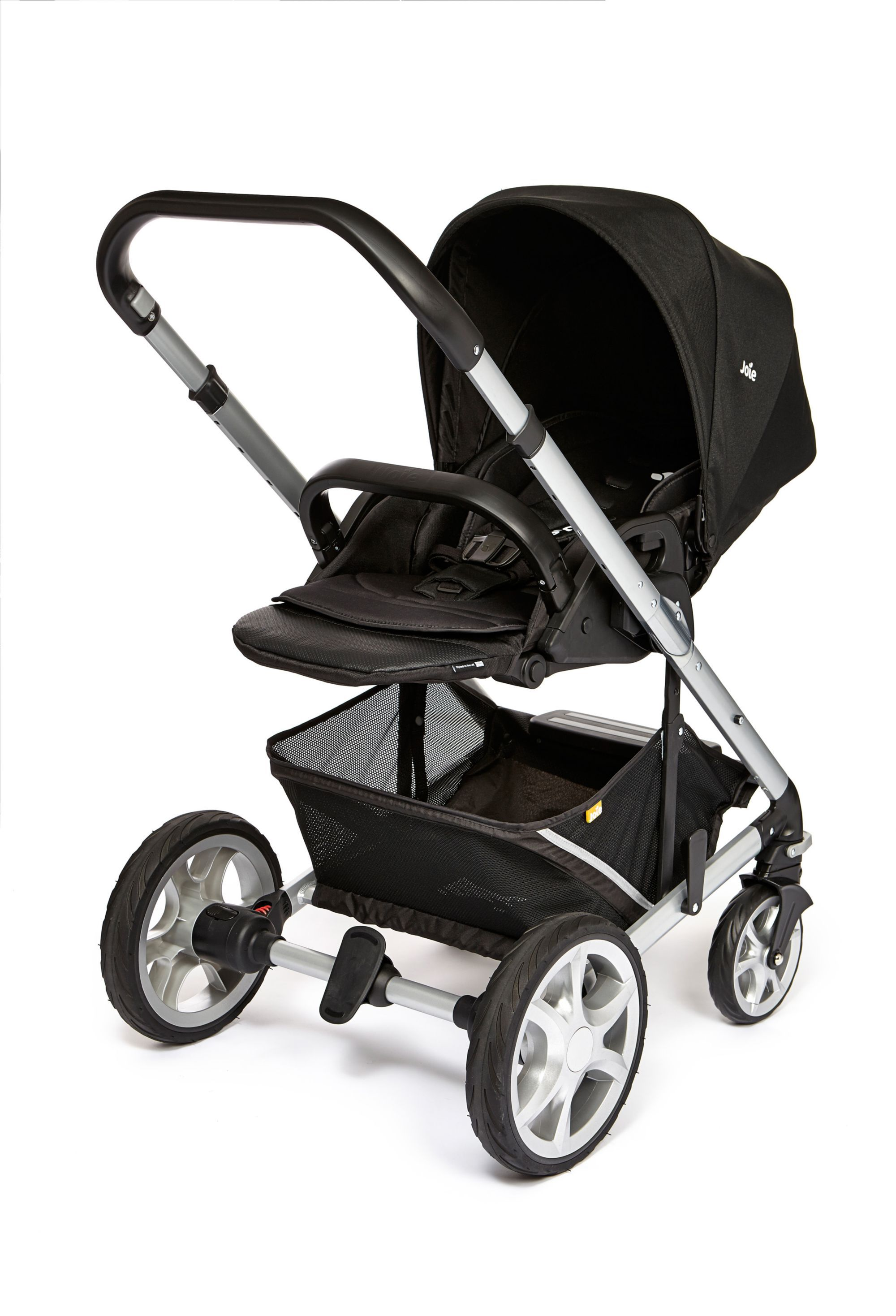Travel System Joie Chrome Joie Chrome Plus Pushchair Black Carbon New Baby