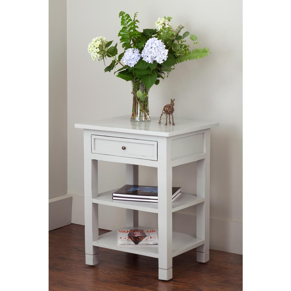 Ozark Grey Storage End Table Tt Jj Nw303 Fg End Tables With