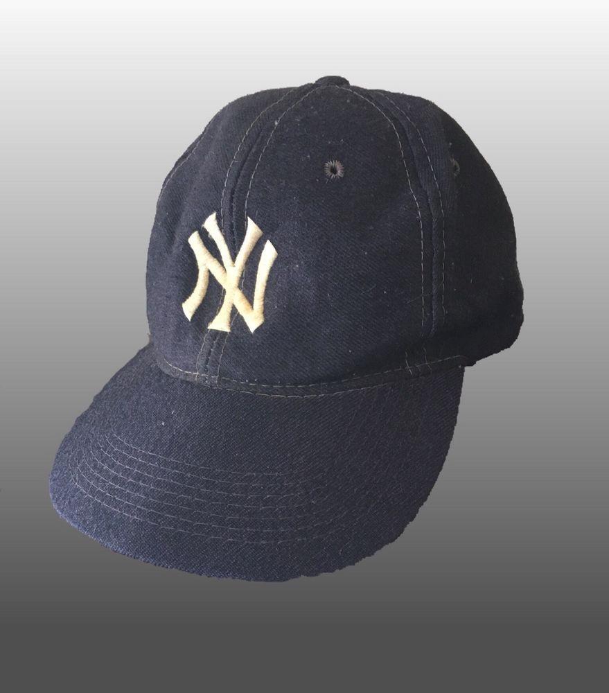 Vtg New York Yankees Mlb Baseball Cap Hat 1970s Wool Snapback Ebay Mlb Baseball Caps Hats Caps Hats