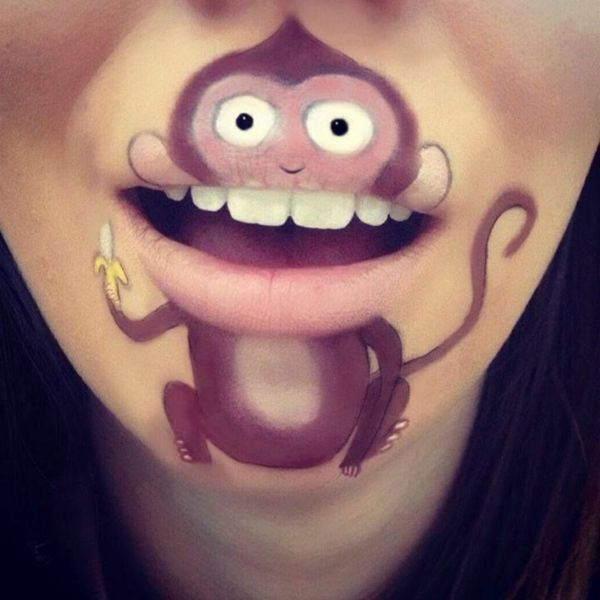 Monkey makeup: for small and large children | Monkey ... - photo#28