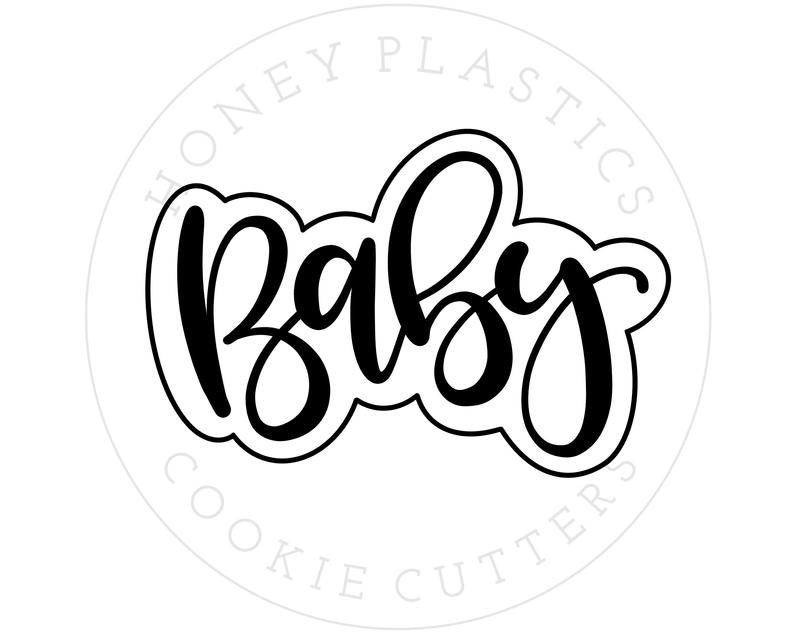 Friyay 1 Hand Lettered Cookie Cutter
