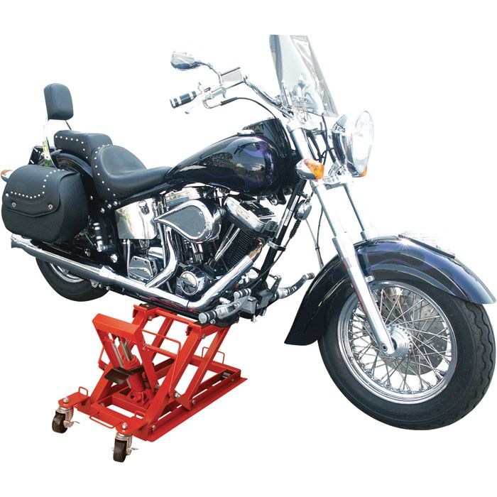 Foot Operated Jack Easily Lifts Jack Stand With Loads Up To 3 4 Of A Ton Lifts Motorcycle Atv Yard Tractor And Lifted Cars Motorcycle Recreational Vehicles