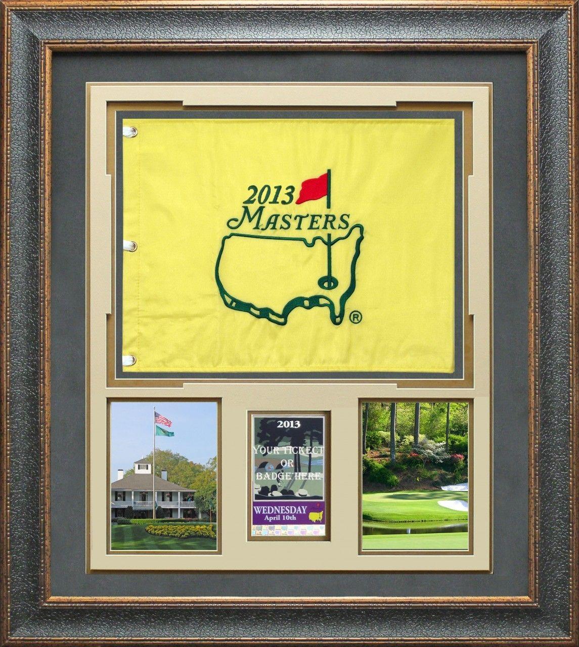 Autographed Masters Memorabilia Signed Photos Flags Golf Ball Golf Flag Framed Flag Masters Tournament