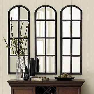 Love mirrors that look like a window home decor ideas for Window mirror ideas