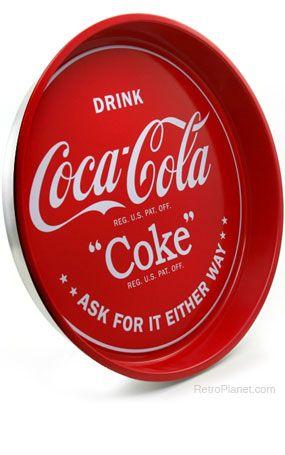 Coca-Cola Drink Coca-Cola Tray