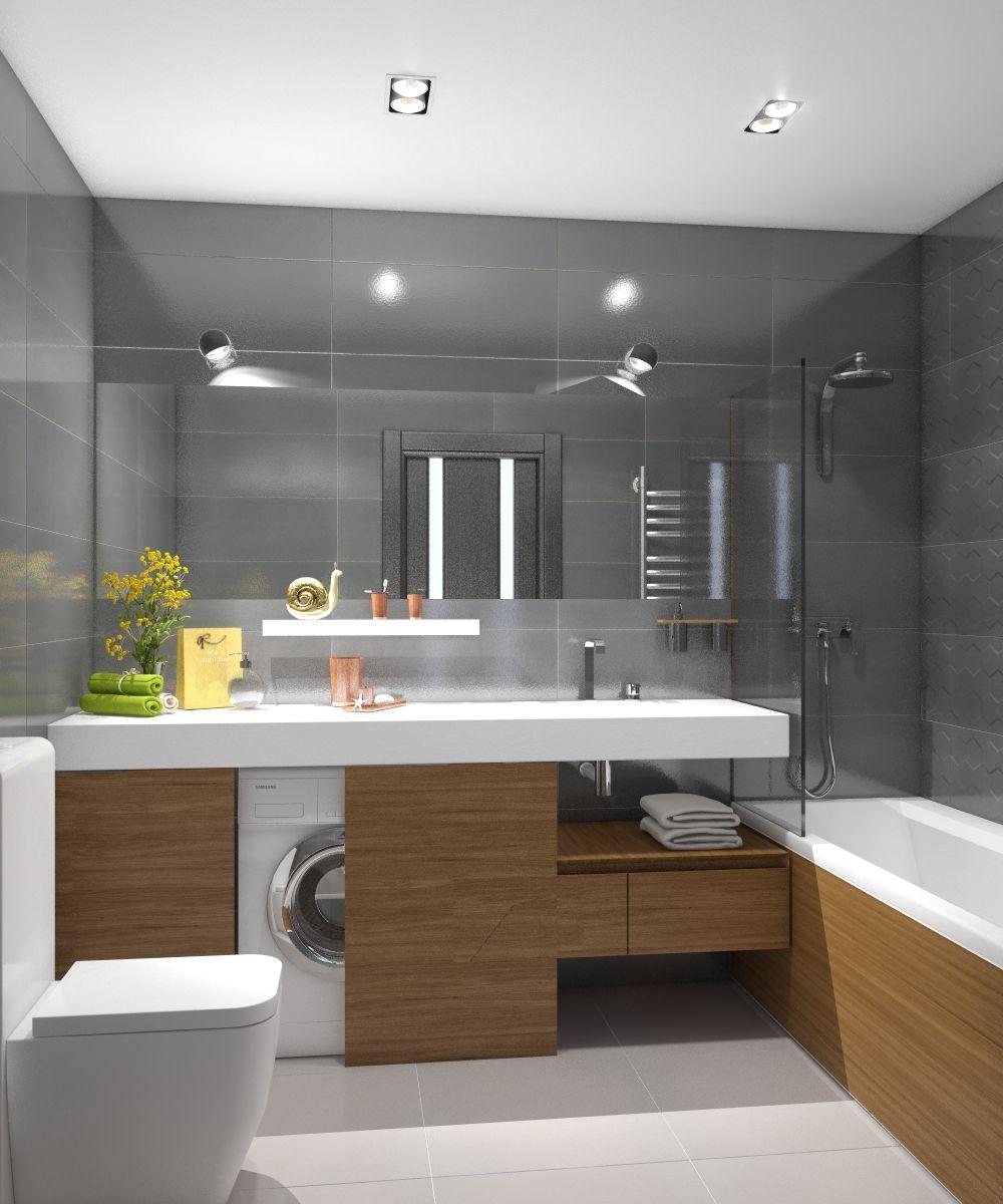 Ванная комната в стиле минимализм от студии abistyle. Данный стиль подразумевает минимальное количество оттенков и четкие графические формы, ну и, конечно же, порядок и чистоту. Коллекция плитки Tubadzin Elementary от фабрики плитки TUBADZIN (Польша).