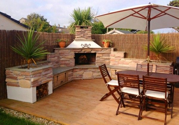 Pizza Oven In The Garden? A Great Idea! Decor10 fogones llafenco