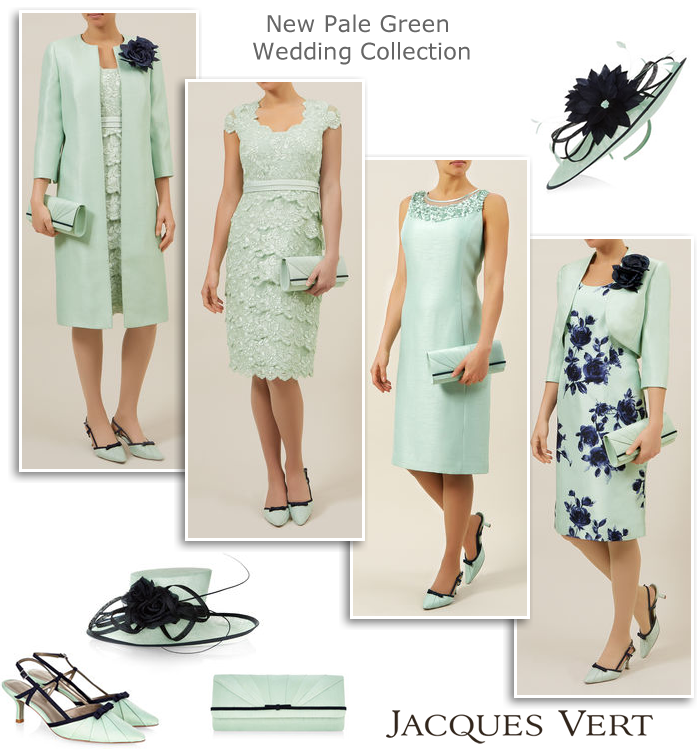 Pale Green Mother Of The Bride Outfits Spring Summer Occasion