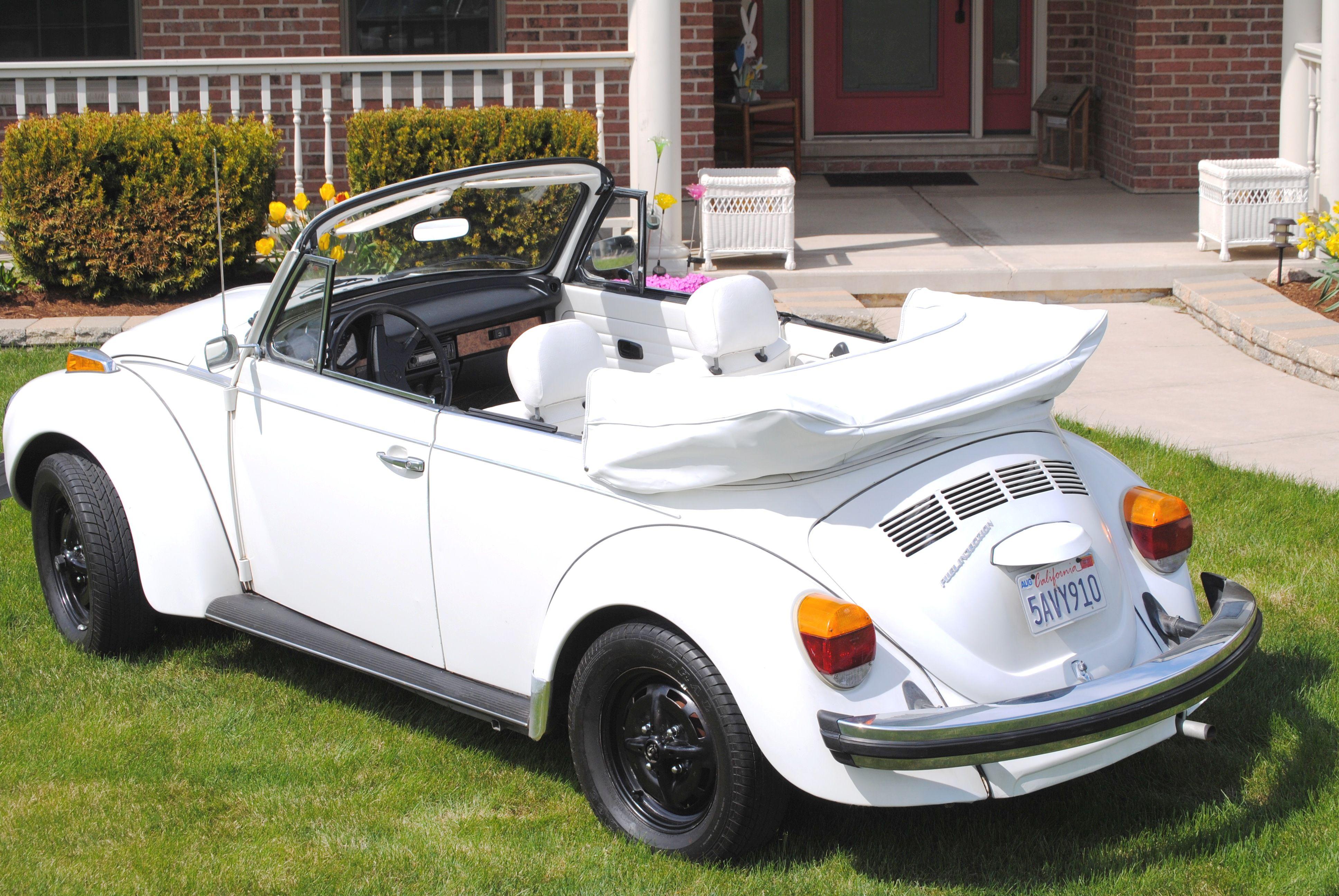 1979 Volkswagen Super Beetle Convertible Herbie Oldmotorsguy