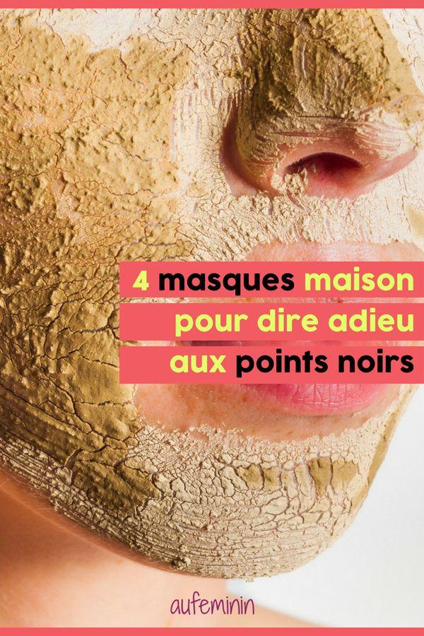 4 masques anti-points noirs pour une peau nickel (DIY)   Point noir, Masque anti point noir et ...