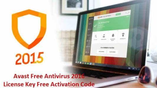 Avast Free Antivirus 2020 License Key Activation Code ...