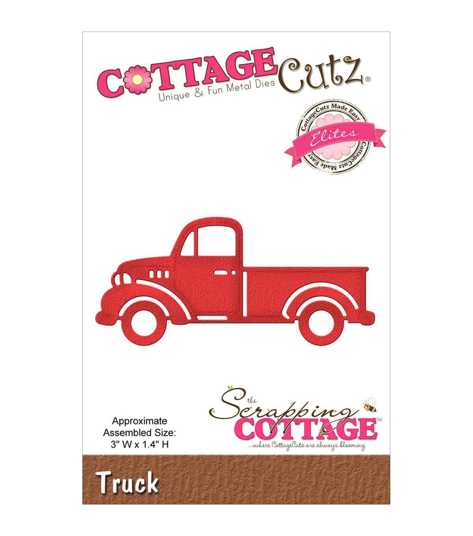 CottageCutz Elites Die-Truck