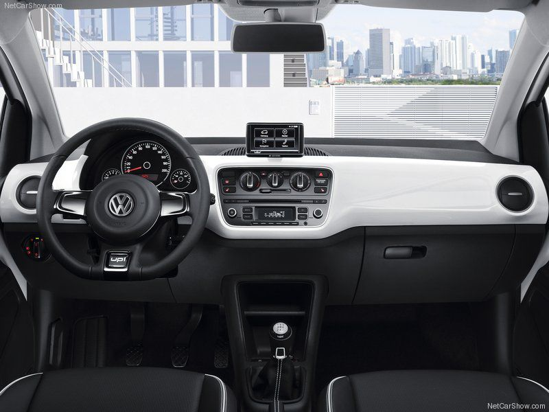 2013 Volkswagen Up A Small Car With Maximum Space On A Minimal