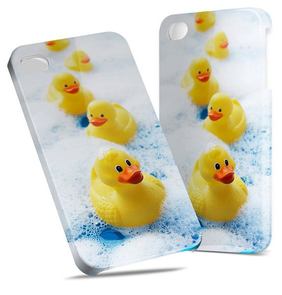 Rubber Duckies - Hard Cover Case iPhone 5 4 4S 3 3GS HTC Samsung Galaxy Motorola Droid Blackberry LG Sony Xperia & more on Etsy, $22.99