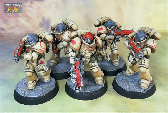 5 Primaris Intercessors Squad B Space Marines Warhammer 40,000 40k GW