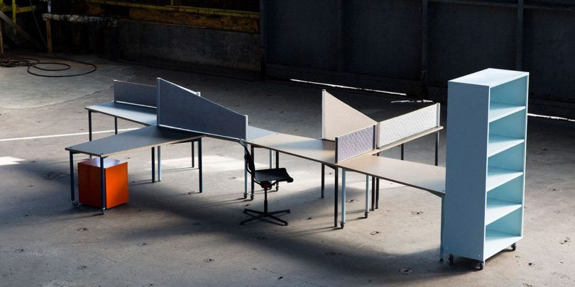 10 Flexible Furniture Options for Any Modern Office is part of Flexible Office furniture - Design Milk went out on a hunt to find some practical and flexible furniture options for the office that either pull double duty or are flexible so they can be used in different ways
