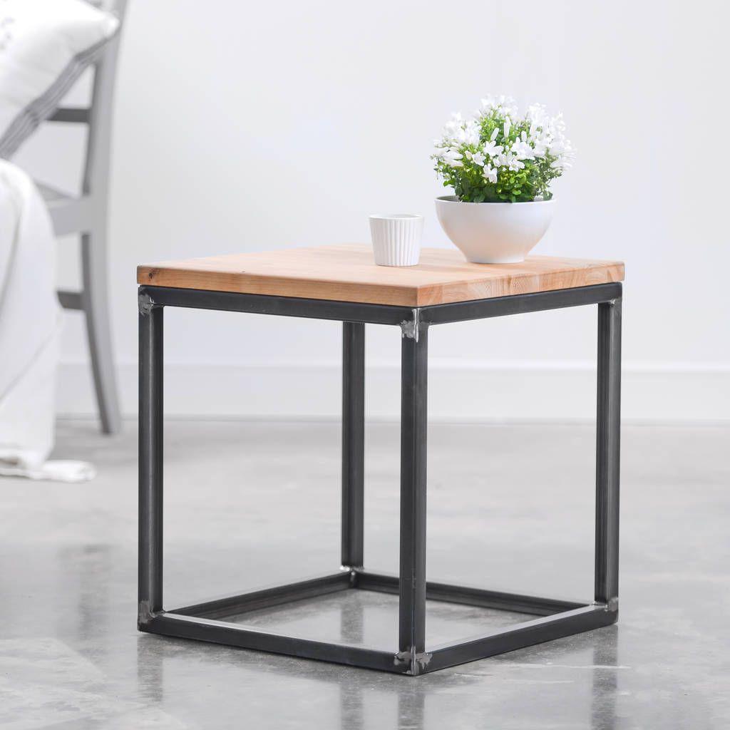 Small heavy duty oak coffee table by edgeinspired small heavy duty oak coffee table geotapseo Gallery