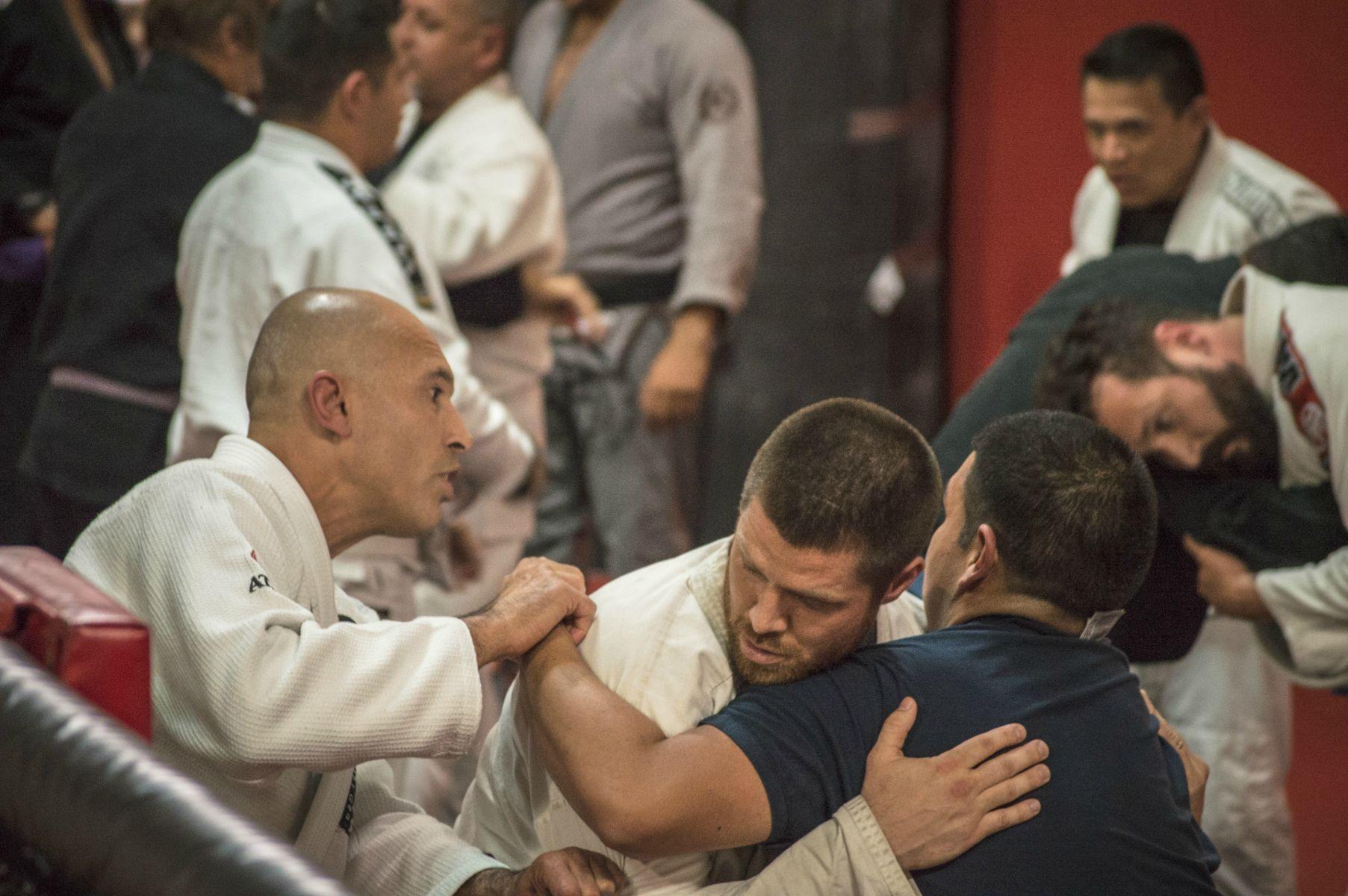 UFC Brazilian Jiu Jitsu Fighter Royce Gracie at Millennia MMA Gym in Rancho Cucamonga California