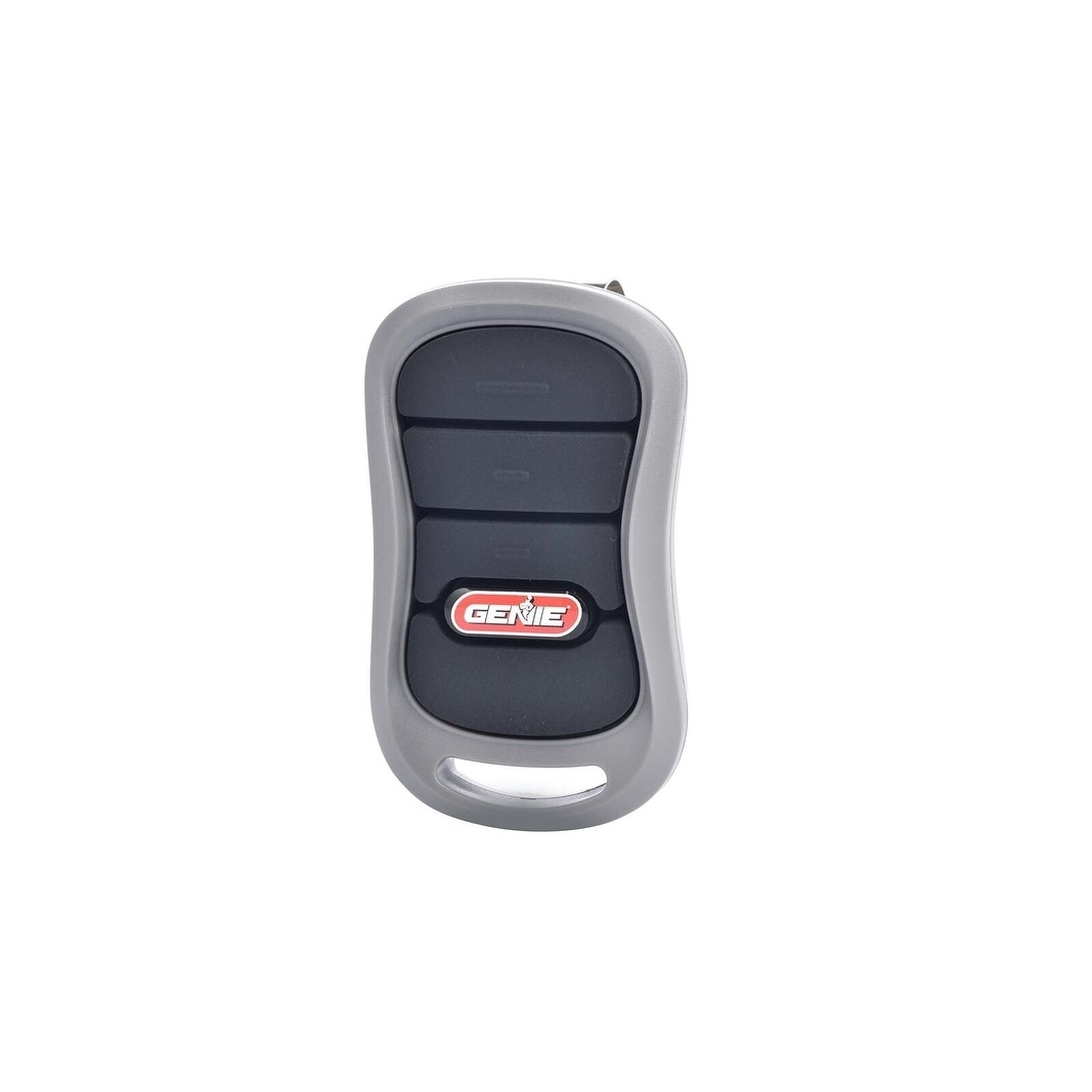 Genie Intellicode 3 Button Garage Door Opener Remote 3 Button Garage Door Remote Grey Metal Garage Door Opener Garage Door Opener Remote Garage Door Styles