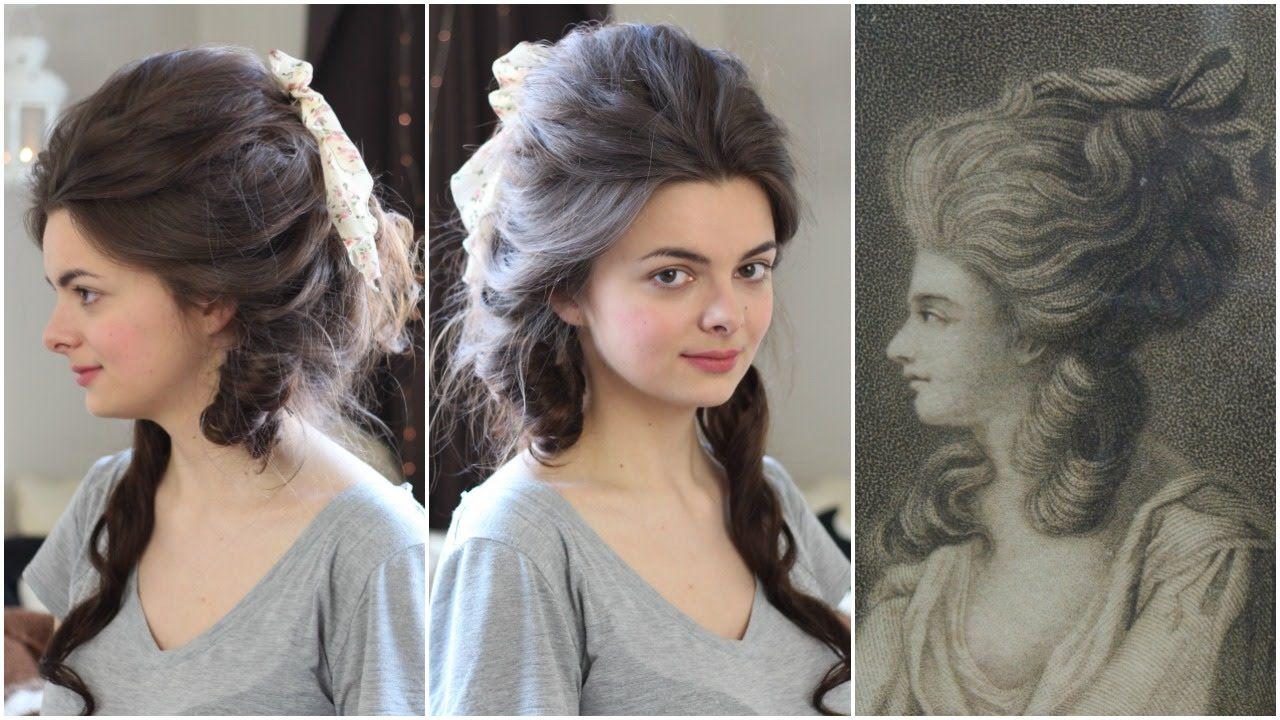 Georgiana Cavendish Tutorial Beauty Beacons Victorian Hairstyles Historical Hairstyles Vintage Hairstyles