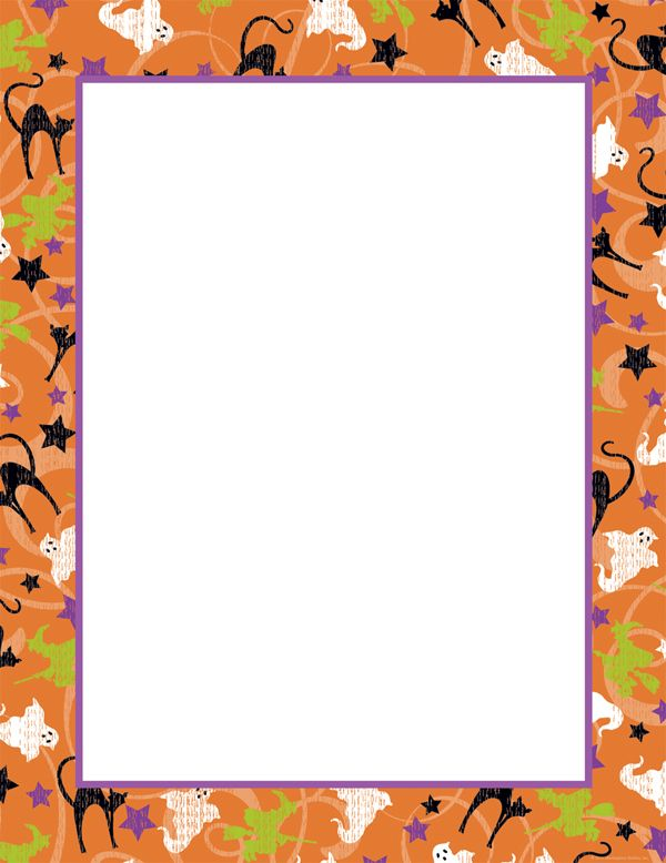 photo about Free Printable Halloween Borders identify Free of charge+Printable+Halloween+Border+Paper halloween border 1