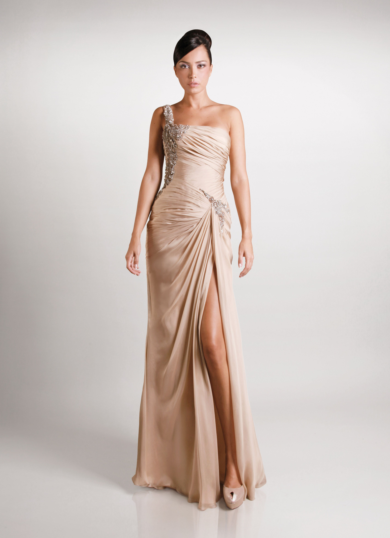 Oneshoulder gemy maalouf gown gemy maalouf pinterest gowns