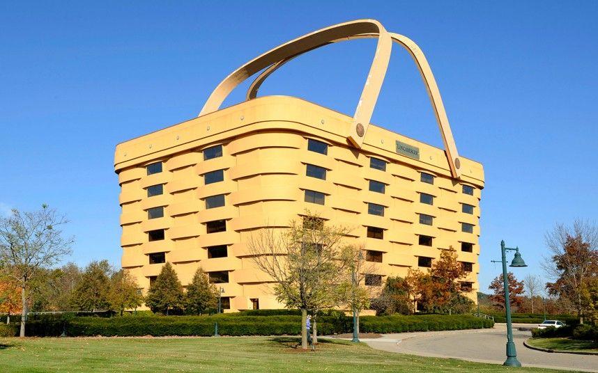 Strange houses - basket