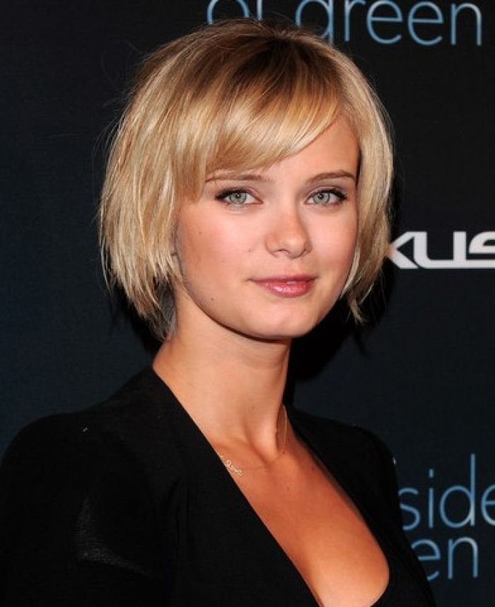 Trendy Short Hairstyles For Round Faces Hair Ideas Pinterest