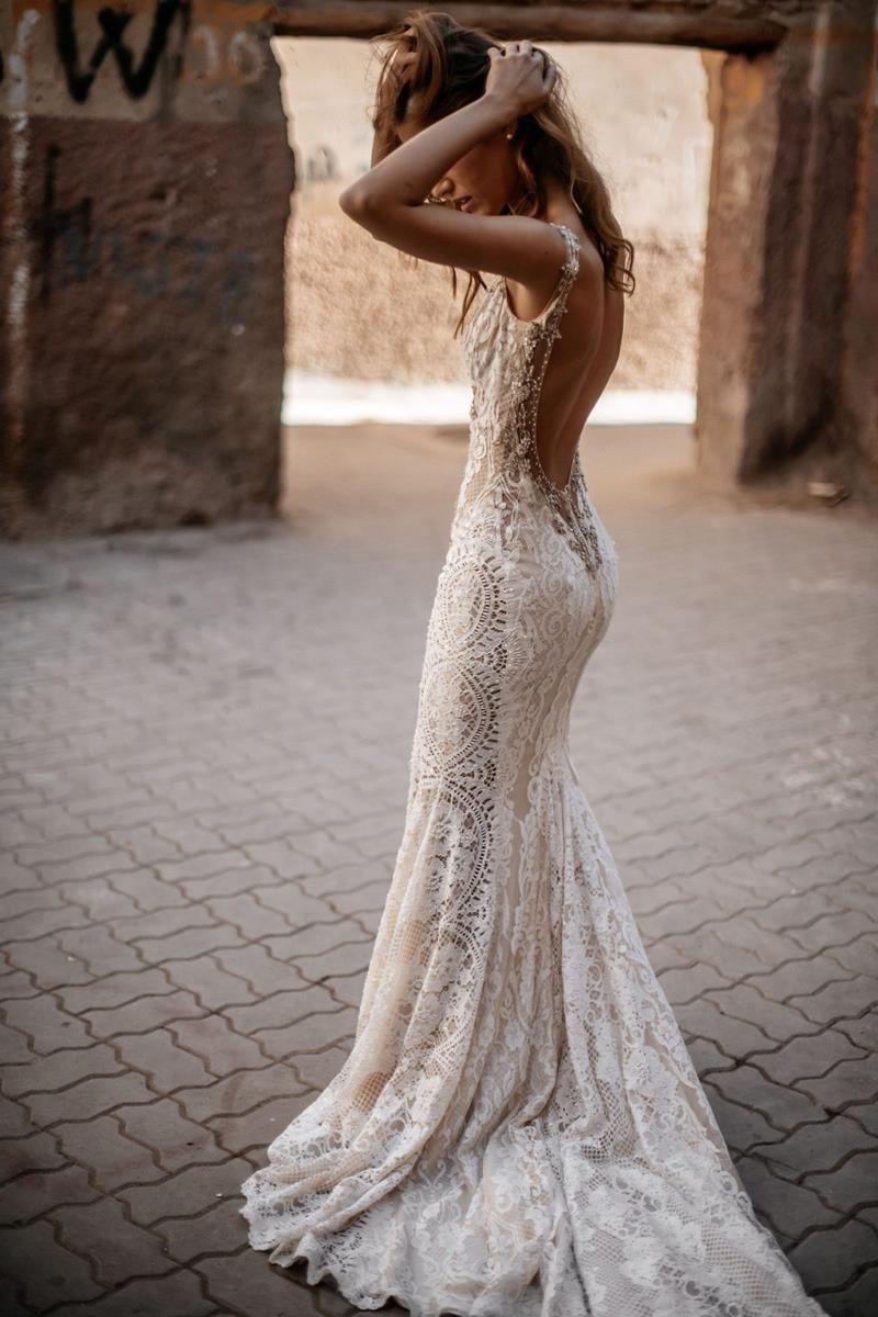 Halter Wedding Dresses in 2020 Backless wedding dress
