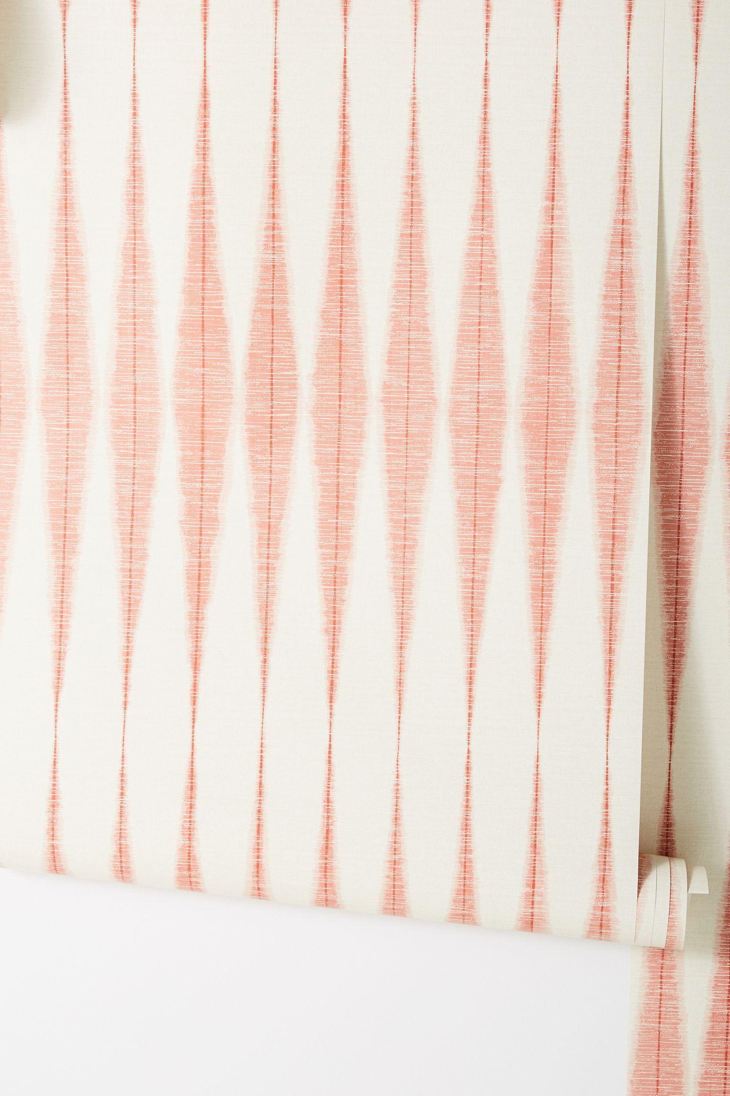 Magnolia Home Handloom Wallpaper Magnolia Homes Boho Wallpaper Striped Wallpaper
