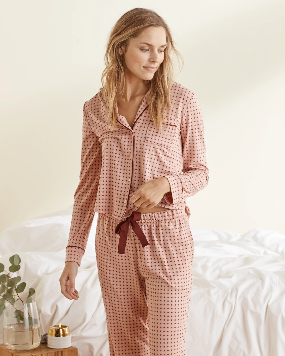 Silk Pajama Set   Silk pajama set, Silk pajamas women