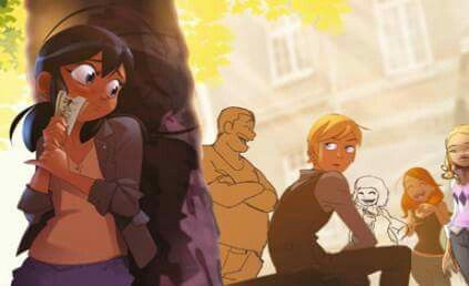 Marinette et Adrien manga