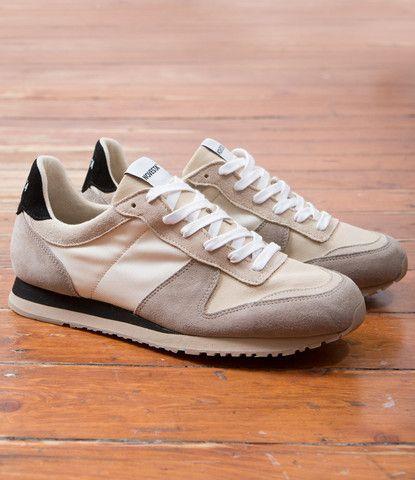 2fffef2790714 Up There Store Melbourne Sneakers Novesta Marathon Runner Beige