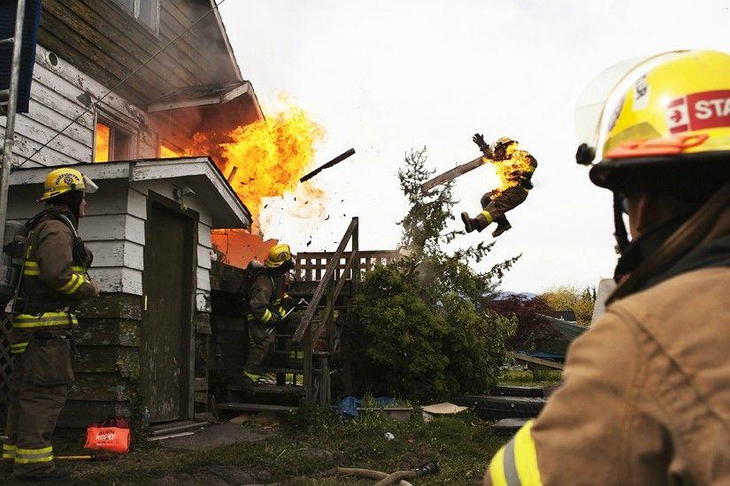 Смешные картинки пожарных