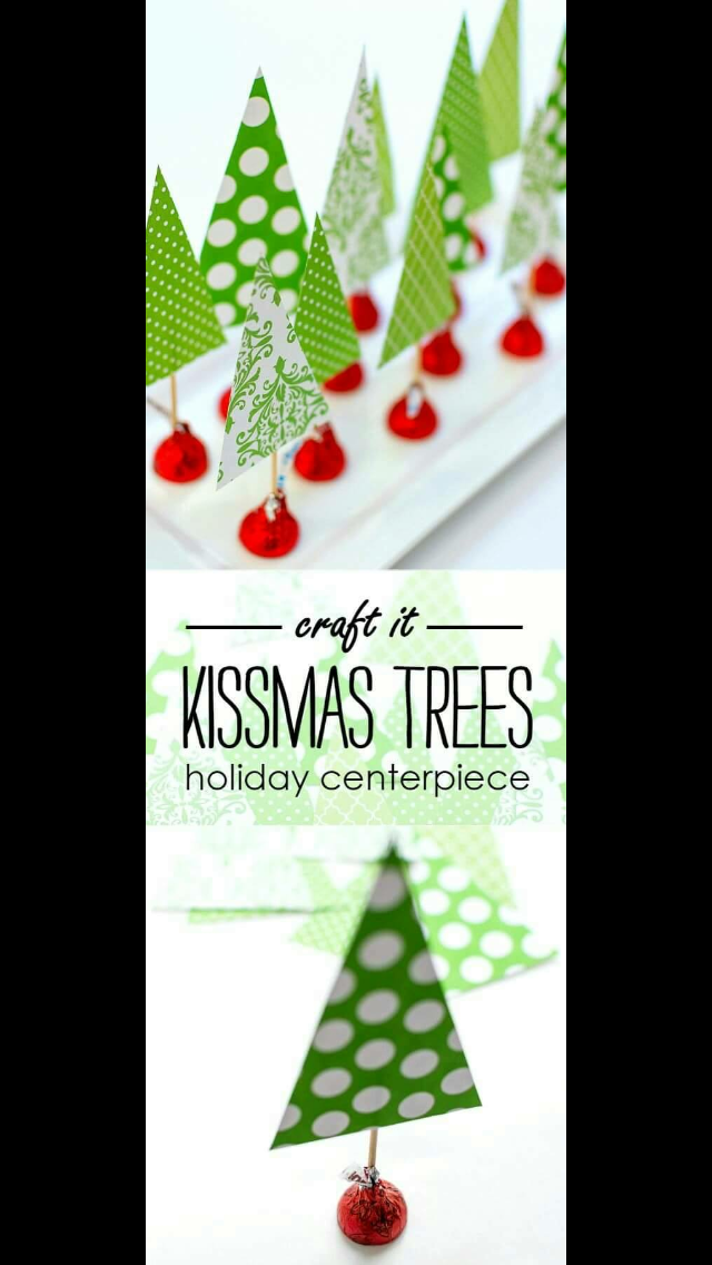 Christmas Tree Centerpieces