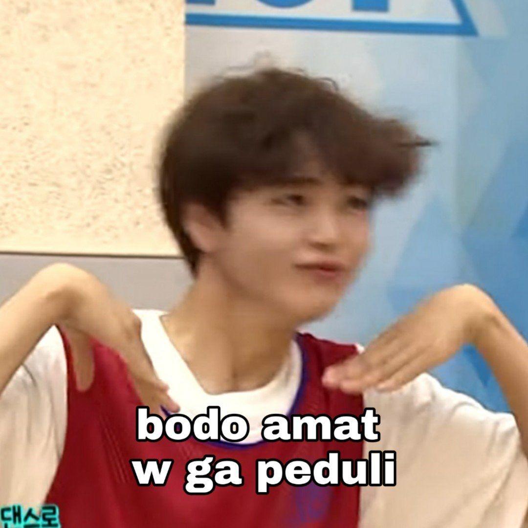Pin Oleh Guess Who Am I Di Kpop Meme Indonesia Humor Lucu Meme Lucu Komedi Romantis