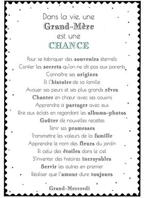 Une Grand Mère Est Une Chance Maman Citation Citation Et