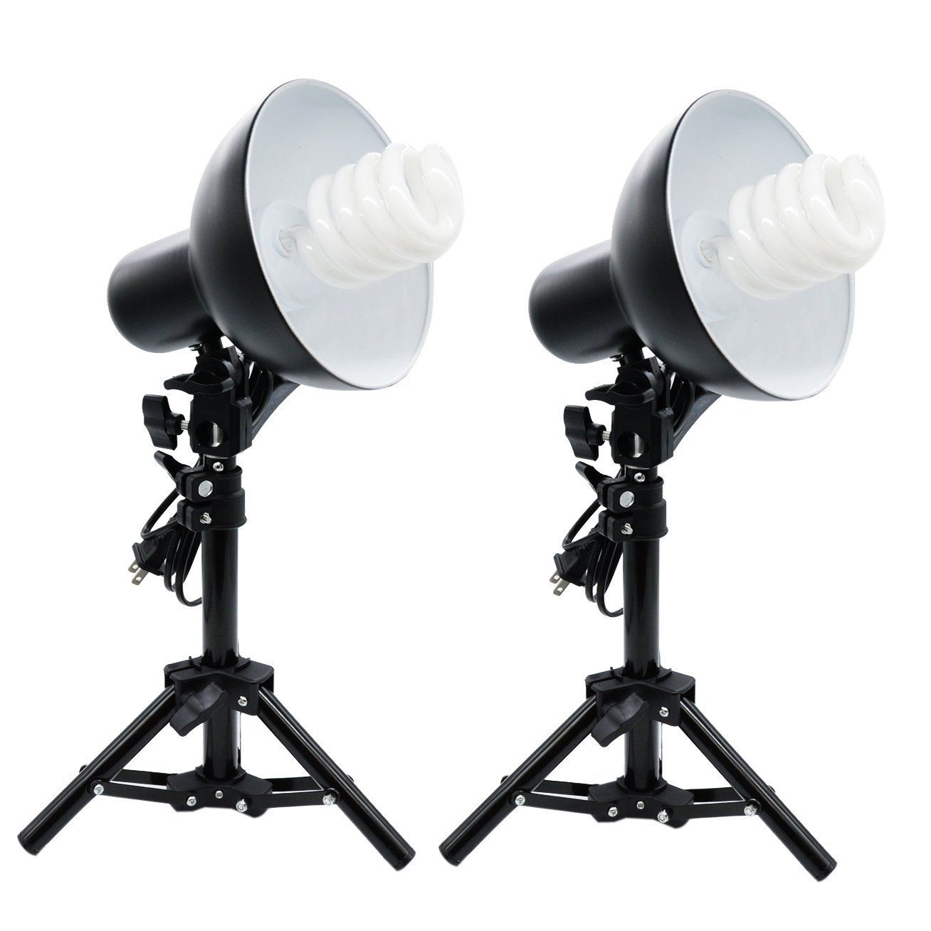 2x Metal Product Photography YouTube Video Table Top Fluorescent ... for Lamp Product Photography  113cpg