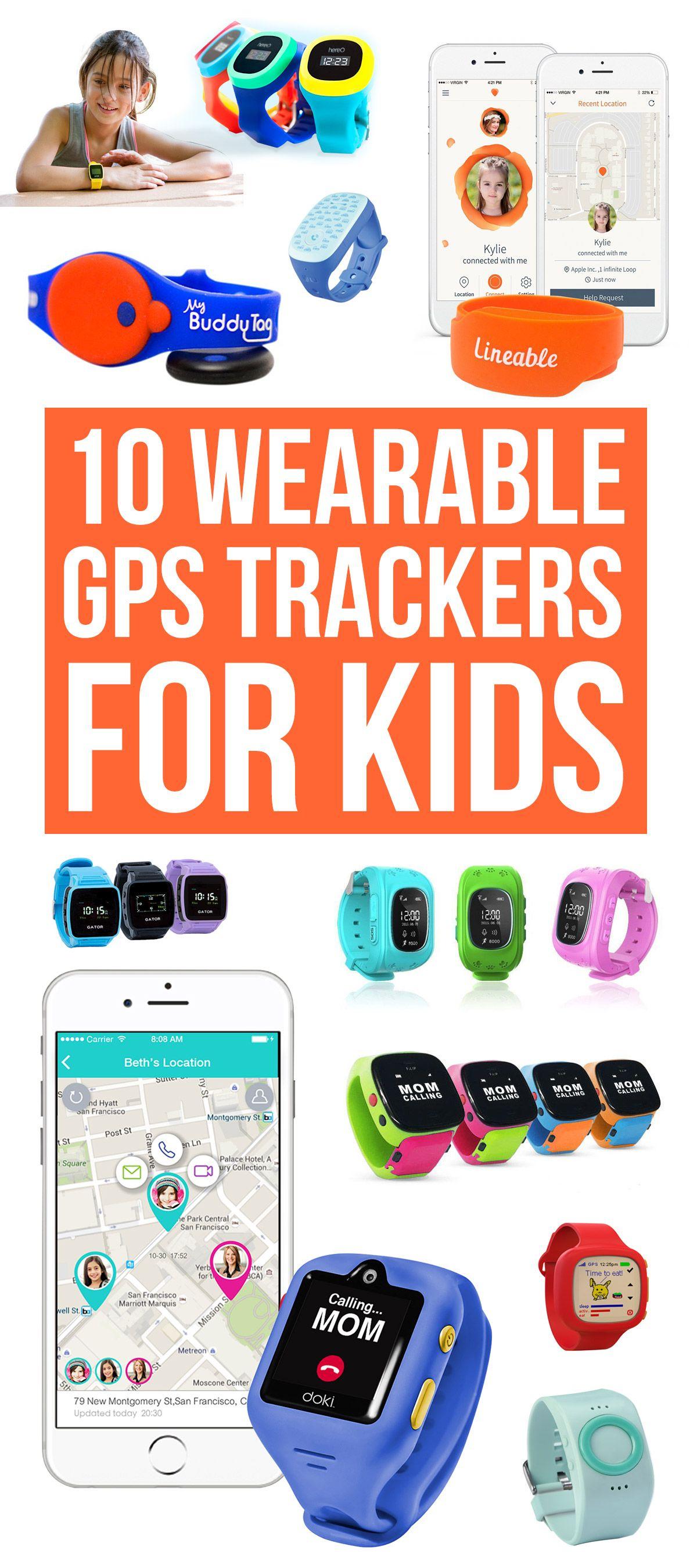 10 Wearable Gps Trackers For Kids Gps Watch Kids Kids Wearables Kids Tech
